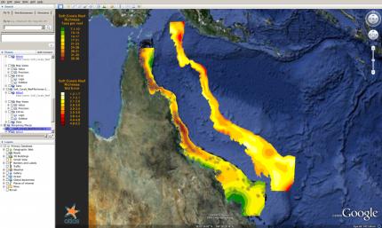 Using KML files in Google Earth | eAtlas on