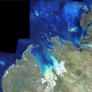 Landsat image of Kimberley coast