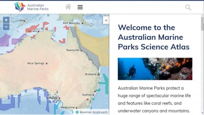 Australian Marine Parks Science Atlas