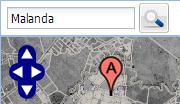 AtlasMapper screenshot - Location search