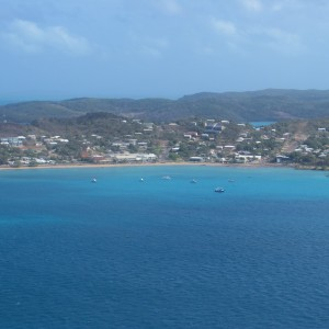 Thursday Island - Aerial view