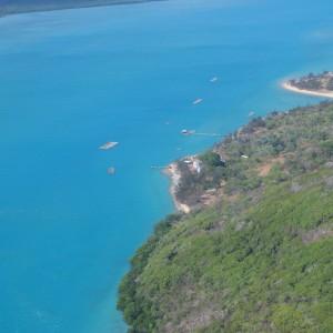 Gialug Island - Aerial view