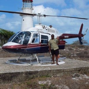 Booby Island - Helicopter landing pad