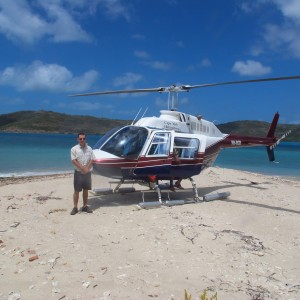 Cherepo Island - Helicopter