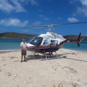 Cherepo Island - Helicopter