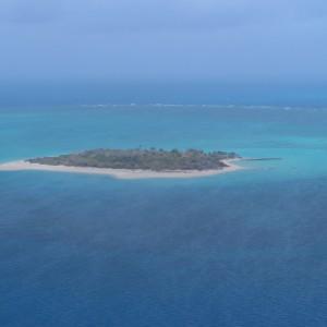 Dugong Island - Aerial view