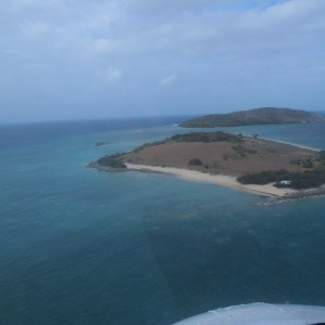 Twin Island - Aerial view
