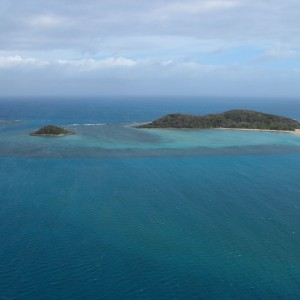 Tuesday Islets - Aerial view