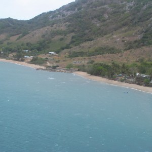 Dauan Island - Aerial view