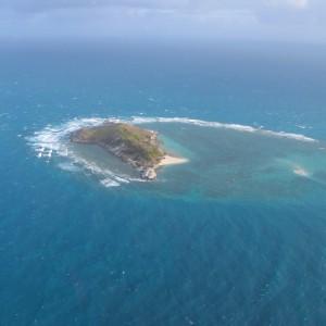 Mokanab Islet - Aerial view