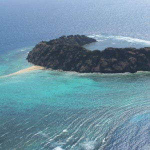 Waier Islet - Aerial view