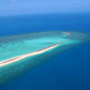 Woiz Reef - Aerial view
