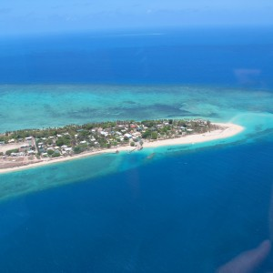 Coconut Island - Aerial view