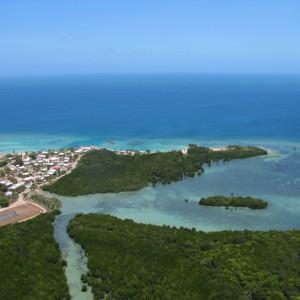 Iama Island - Aerial view
