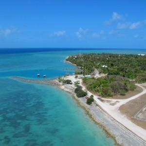 Warraber Island - Aerial view
