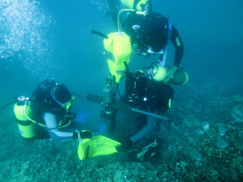 Extraction Of Coral Core Eatlas