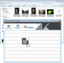 Loading images in the Image Metadata Editor