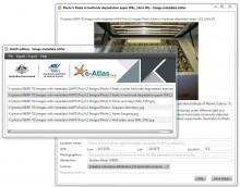 Screenshot of the Image Metadata Editor