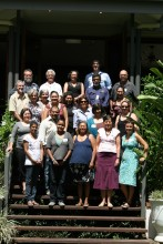 Indigenous Co-management and Biodiversity Protection workshop group, October 2012