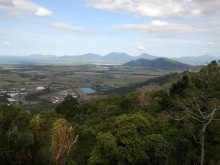 View of Cairns from Henry Ross Lookout on Karanda Range road