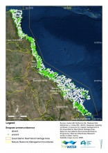 Map of seagrass distribution in GBRWHA