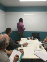 Dion Creek (Kalan Enterprises) speaks to Planning and Knowledge Sharing Workshop - Indigenous livelihoods and watershed services - Cairns 2016