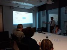 Dr Jim Smart presenting at DEHP OGBR Workshop - 16/11/17